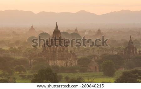 Bagan, Myanmar. - stock photo