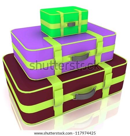 Baggage kit - stock photo