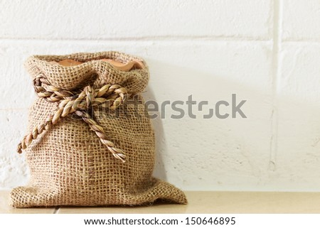 Bags and sacks - stock photo