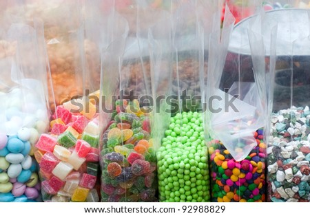 Bags of Candy - stock photo