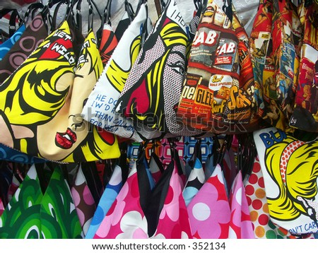 Bags of Color - stock photo