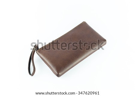 Bags of various solated on white background with clipping path