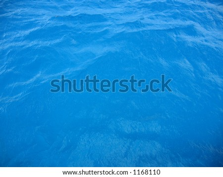 Bahamas Clear Caribbean Sea Water