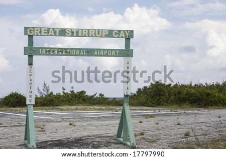 Bahamian international airport