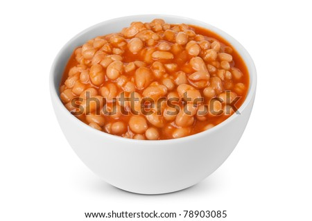 Baked beans portion