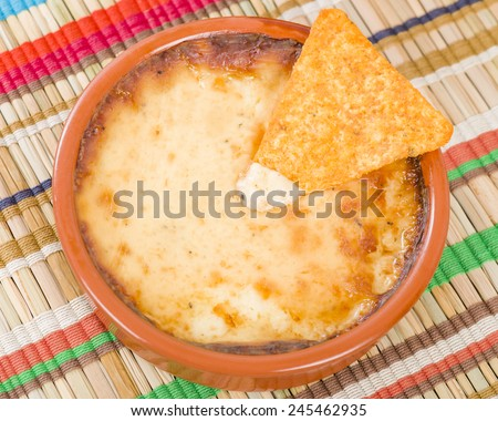 how to make melted cheese dip