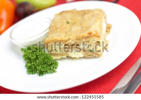 baked cheese pie