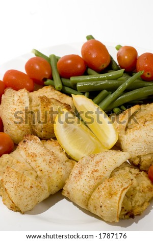 Dover Sole Stuffed With Crabmeat