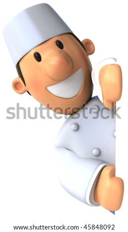 Baker - stock photo