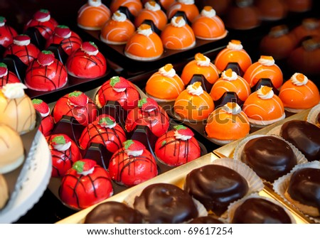 bakery assortment - stock photo