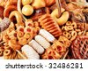 Bakery foodstuffs. Shot in a studio. - stock photo