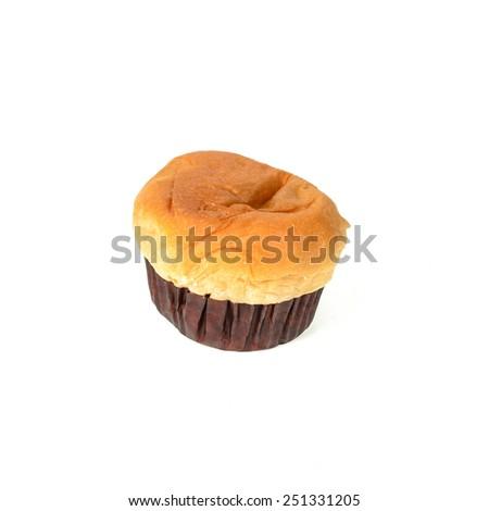 bakery on white background - stock photo