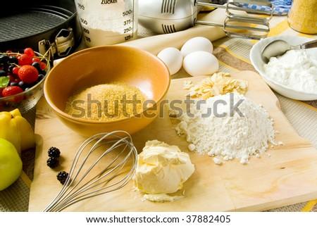 Baking - stock photo