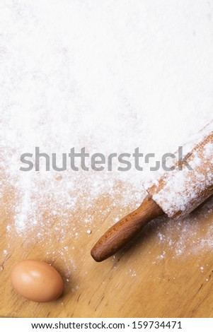 baking background - stock photo