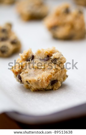 Baking cookies - stock photo