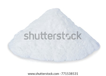 Baking powder isolated on a white background. this has clipping path.