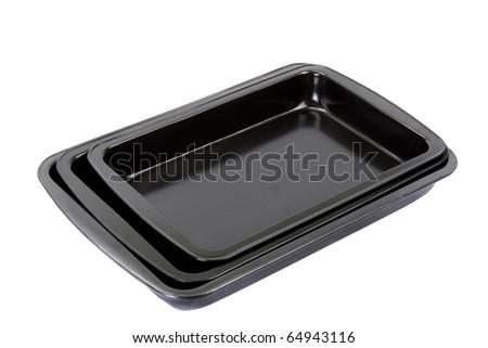 baking sheet - stock photo