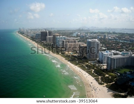 Bal Harbour, Surfside, Miami Beach, Miami - stock photo