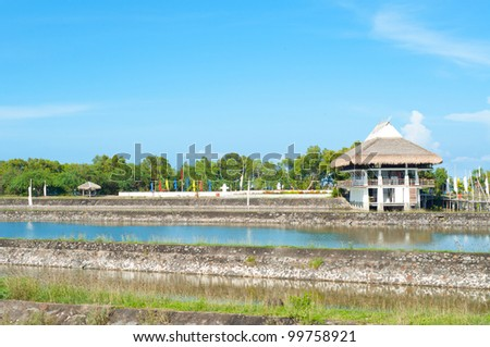 Balai Sa San Juan In Batangas Philippines Stock Photo