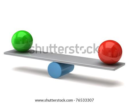 Balance concept - stock photo