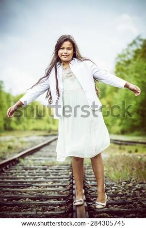 balancing - stock photo