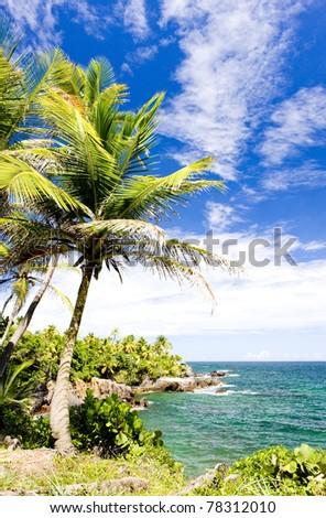 Balandra Bay, Trinidad - stock photo