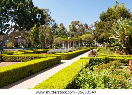 Balboa Park in San Diego - stock photo