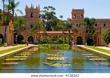 Balboa Park in San Diego California - stock photo