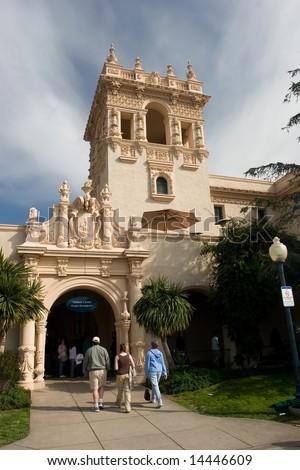 Balboa Park is a urban cultural park in San Diego, California - stock photo