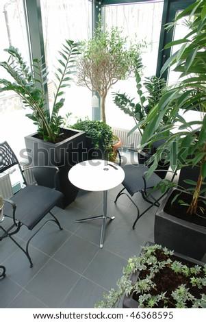 Balcony - stock photo