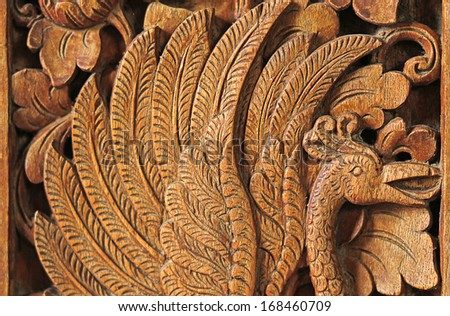 Bali beauty texture background - stock photo
