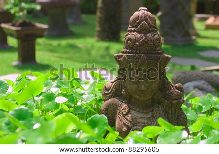 Bali culture - stock photo