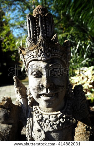 Bali statue is beatyful art