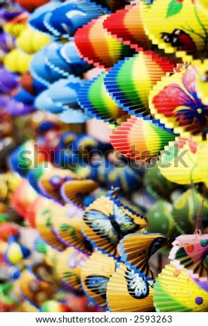 Balinese souvenir - stock photo