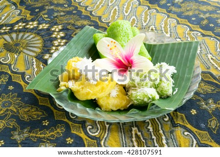 Balinese traditional sweets