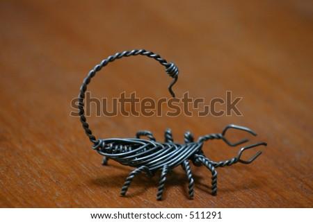 Baling Wire Scorpion Stock Photo (Royalty Free) 511291 - Shutterstock