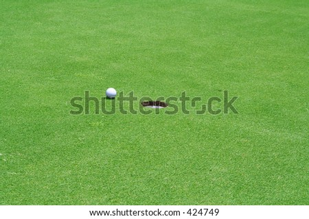 Ball near Hole