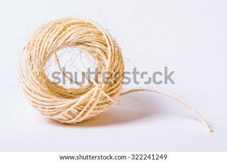 ball of string - stock photo
