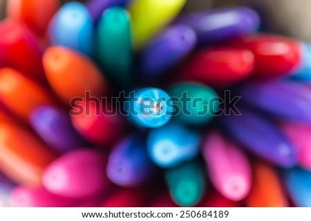 Ball point pens - stock photo