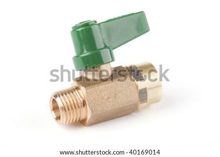 Ball valve - stock photo