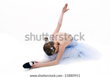 ballerina - stock photo