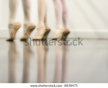 Ballet Dancer Feet - Dreamy version (orton imaging technique)