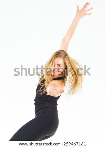 Ballet Model Pretty Woman  - stock photo