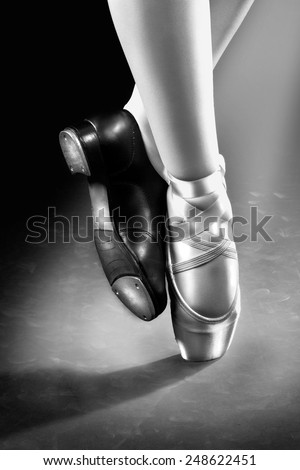 Ballet & Tap Dancing shoes