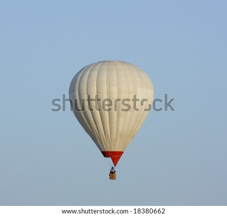 balloon against a backdrop of blue sky