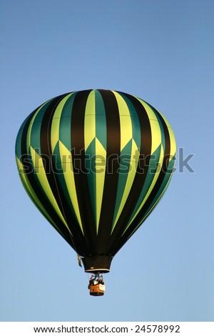 Balloon at the Adirondack Balloon Festival - stock photo