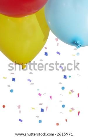 balloon background - stock photo