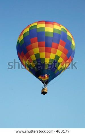 balloon eight - stock photo