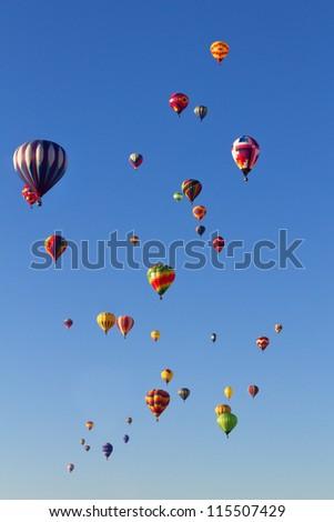 Balloon Fiesta - stock photo