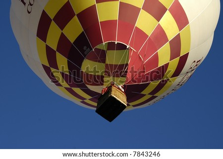 Balloon from below